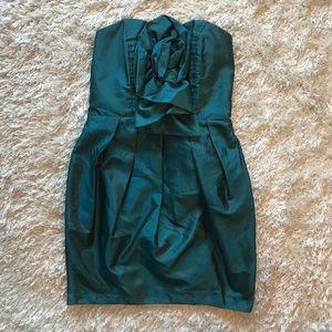 Boutique Teal Mini Dress